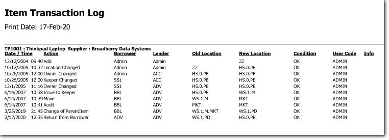 locator-issue-transaction-log