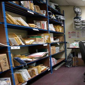 Mailroom parcels